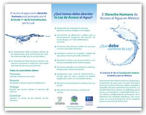 El Dereho Humano de Acceso al Agua en México