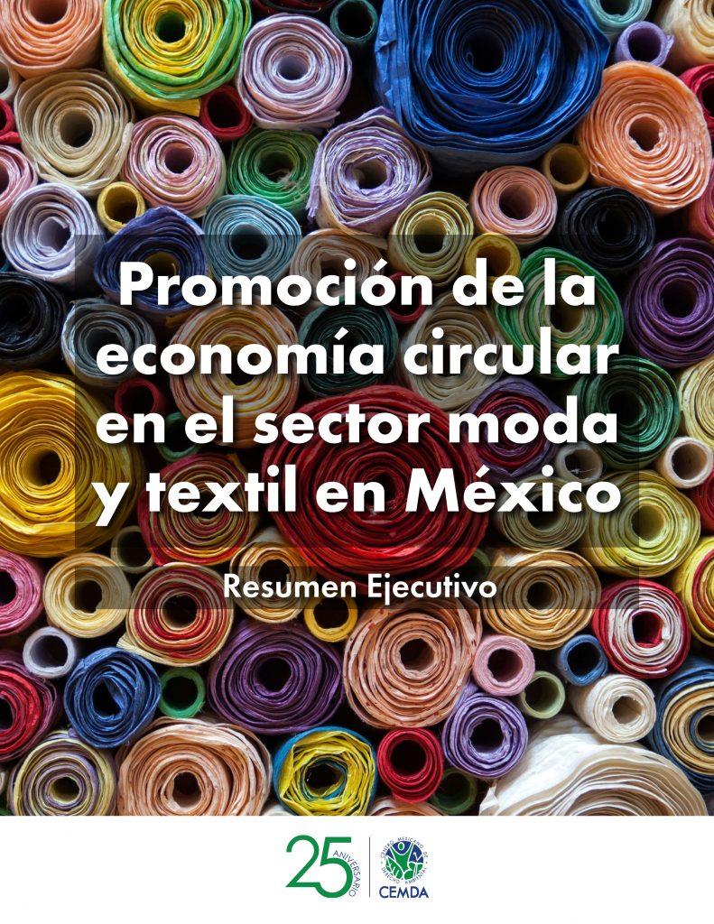 Resumen Ejecutivo Promoción de la economía circular en el sector moda y textil en México